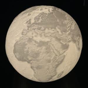 Levitating Earth Lamp