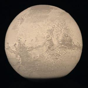 Levitating Mars Lamp