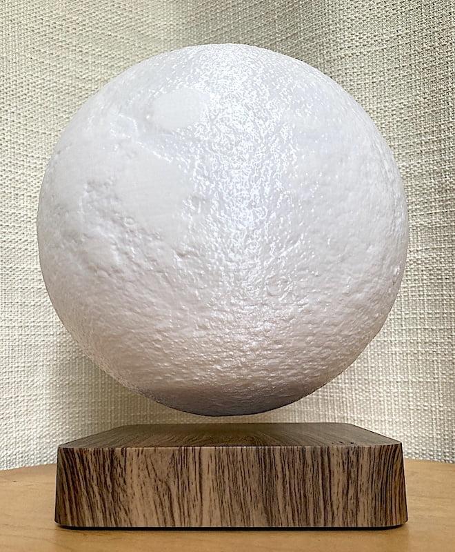 3D Printed Levitating Moon Lamp